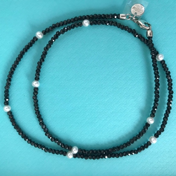 d1bd4b4e0a126 Tiffany & Co. Ziegfeld Black Spinel Pearl Necklace